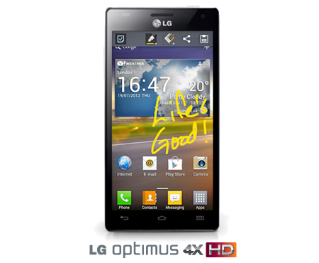 LG Optimus 4X HD firmware